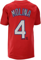 Majestic Kids' Short-Sleeve Yadier Molina St. Louis Cardinals Player T-Shirt