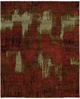 Natori Dynasty- Brushstroke Red Tones Rug