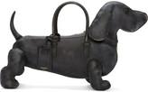 Thom Browne Black Distressed Hector Bag