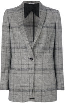 Tonello tartan fitted jacket