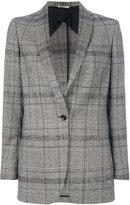 Tonello tartan fitted jacket