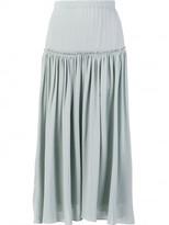 Chloé pleated midi skirt