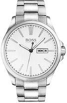 HUGO BOSS BOSS The James Analog, Day & Date Stainless Steel Bracelet Watch