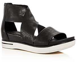 Eileen Fisher Women's Sport Crisscross Wedge Platform Sandals