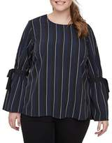 Junarose Plus Fryd Long-Sleeve Blouse