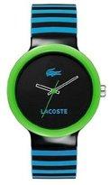 Lacoste Goa 2020006 40mm Resin Case Rubber Mineral Men's & Women's Watch