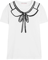 Comme des Garcons Printed Cotton-jersey T-shirt - small