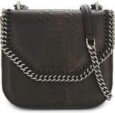 Stella McCartney Falabella snake-embossed cross-body bag