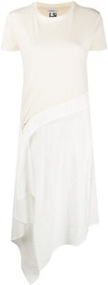 Loewe asymmetric T-shirt dress