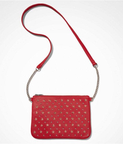 Express Star Studded Cross Body Bag
