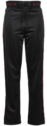Givenchy Jacquard-trimmed Striped Jersey Track Pants