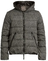 Duvetica Dionisio Quilted-down Jacquard Coat
