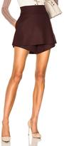 Stella McCartney Enery Wool Skort in Red.