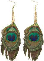 Zad Triple Peacock Earrings