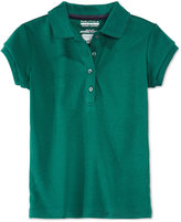 Nautica Plus Girls' Uniform Polo