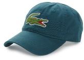 Lacoste Men's 'Big Croc' Logo Embroidered Cap - Blue