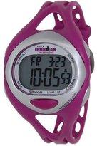 Timex T5K759 38mm Resin Case Purple Resin Mineral Women's Watch