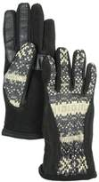 Isotoner Polyester Active Smart Touch Gloves (M/L, )