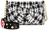 Betsey Johnson Floral Tweed Shoulder Bag, A Macy's Exclusive Style