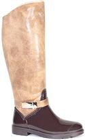 Bamboo Chestnut & Cream Stormy Rain Boot