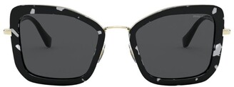Miu Miu Oversized Sunglasses