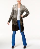 Style&Co. Style & Co Ombre Duster Cardigan, Created for Macy's