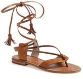 Hinge Women's 'Avery' Wraparound Strap Sandal