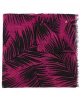 Saint Laurent palm print scarf