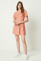 Zina French Connenction Jersey Drape Neck Dress