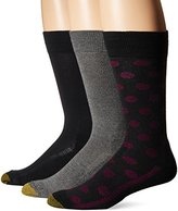 Gold Toe Men's Performance Dot Crew 3-Pack Sock