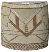 The Nude Face Metetsi Hand Beaded Mini Skirt.