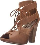 Qupid Women's Bailey-33 Heeled Sandal
