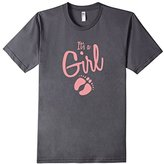 It Is A Girl Gender Reveal Baby Sex Announcement T Shirt