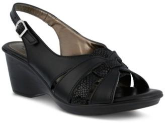 Spring Step Adorable Wedge Sandal