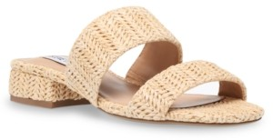 Steve Madden Women's Jaron Block-Heel Slides