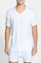 Nordstrom Men's 4-Pack Regular Fit Supima Cotton V-Neck T-Shirts
