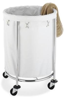 Whitmor Round Commercial Laundry Hamper