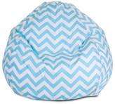 Majestic Home Goods Chevron Bean Bag Chair