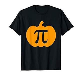 Pi Pumpkin Pie Math Teacher Halloween Christmas T-Shirt