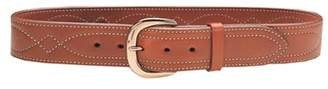 "Galco SB640 Fancy Stitched Belt 40"" 1.75"" Wide Leather Tan"