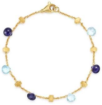 Marco Bicego 18K Yellow Gold Paradise Iolite & Blue Topaz Beaded Bracelet - 100% Exclusive