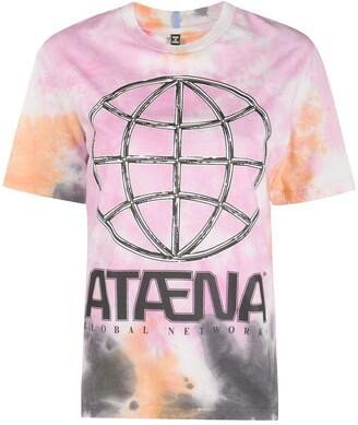 McQ tie-dye graphic print T-shirt