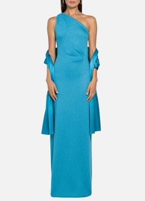St. John Evening Milano Knit Gown