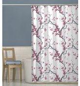 Maytex Cherrywood Fabric Shower Curtain, 70 X 72 Inch , Floral