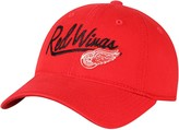 adidas Women's Red Detroit Red Wings Top Stitch Adjustable Hat