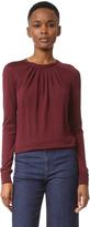 Nina Ricci Silk Wool Long Sleeve Sweater