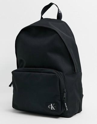 Calvin Klein Jeans Campus logo backpack in black