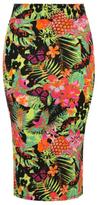 George Tropical Midi Skirt