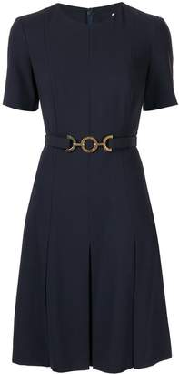 Celine Pre-Owned chain belt mini dress