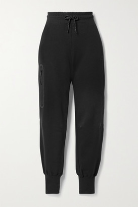 Nike Cotton-blend Jersey Track Pants - Black